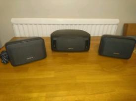 Aiwa surround speakers