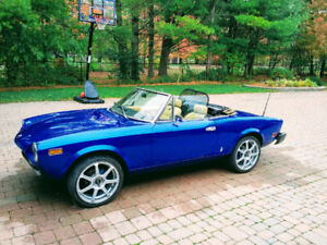 1978 Fiat Spider 124 Convertible great condition for trade