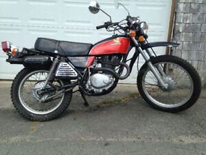 1976 Honda 350XL Enduro