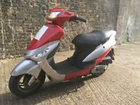 2012 Peugeot V Clic 50cc learner legal 50 cc scooter with MOT.