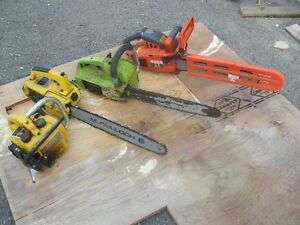4 Chainsaws for parts