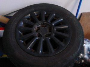 $240 Universal 15 inch rims and tires
