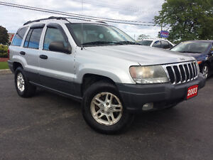 2003 Jeep Grand Cherokee Laredo | E-TESTED