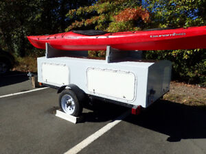 Utility trailer for boats and gear