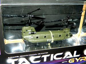 Protocol Tactical Cargo With Gyro 3 Channel R/C Helicopter