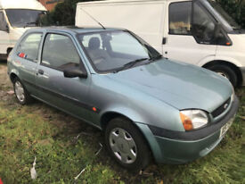 2001 FORD FIESTA 1.3 FINESSE LONG MOT GREEN