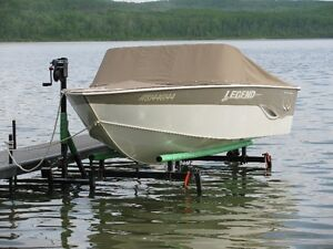 CUSTOM CANTILEVER PONTOON, BOAT AND WAKEBOARD BOAT LIFTS Prince George British Columbia image 10