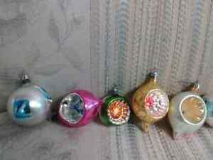 Old Christmas ornaments.