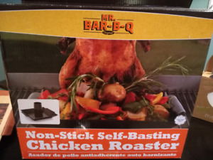 New self basting chicken roaster