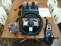 G27 Wheel PS3/PS4/PC