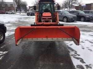 Gratte a neige avec teflon 7 pieds