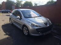 Peugeot 207 1.6 HDI SPORT , £30 TAX A YEAR, CHEAP INSURANCE, VERY GOOD ON FUEL AT 60 MPG,