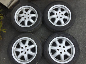 """4 Audi/VW 16"""" wheels in good condition."""