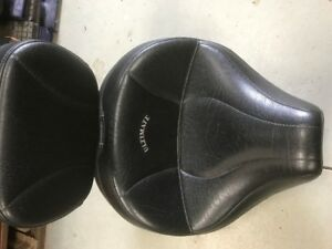 Ultimate motorcycle seat/ off a Yamaha 650 classic
