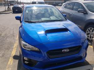 2016 Subaru WRX sport tech,  low kms