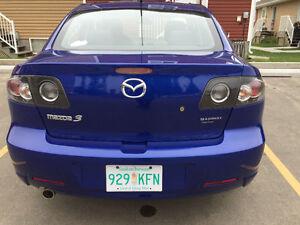 2007 Mazda Mazda3 GS 2.0 L inj 4 cyl Sedan