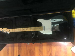 Fender Made In USA Telecaster Standard with Hardshell Case