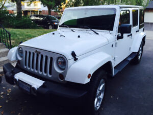 2013 JEEP WRANGLER UNLIMITED SAHARA - w/RARE SRS SIDE AIRBAGS