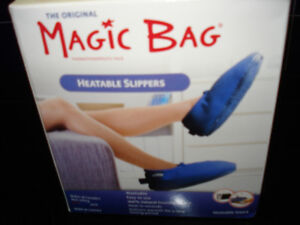 Magic Bag Slippers- New in the box