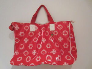 MOSCHINO-Womens Red Carry Bag-With Hearts