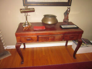 Antique Queen Ann Style desk...