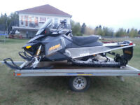 2 SLEDS AND TRAILER(PACKAGED DEAL)