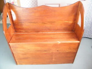 Solid Wood Handmade Deacons Bench