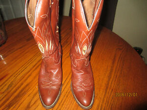 BOULET WOMEN'S COWGIRL BOOTS 8.5