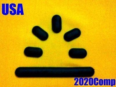 Hewlett Packard Rubber Foot - HP  DV2000 DV2300 DV2500 DV2700 Bottom Base Rubber Foot Feet Bumper
