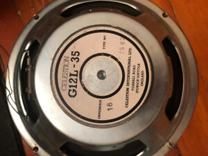 Celestion Guitar Cab Speakers 12""