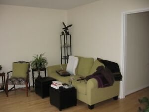 East Hill Corner unit Lakeview Manor, Telus fibre available.