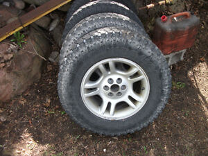 4 245/75R 16 on dodge rims (NEW PRICE )