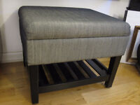 BRAND NEW BENCH WITH STORAGE / REDUCED PRICE