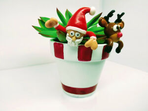 Christmas Ornaments / Customized Clay Figurines