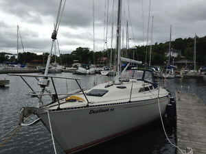 C&C 38 Sailboat for sale.