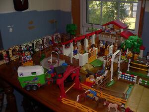Lot de Playmobil - Thème écurie ou centre équestre Saint-Hyacinthe Québec image 1