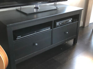 IKEA Hemnes TV stand bench with drawers in excellent condition