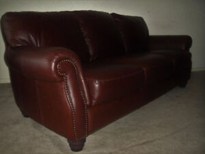 """""""Natuzzi Itasofa""""Top Grain All Leather Couch Set, Delivery Avail"""