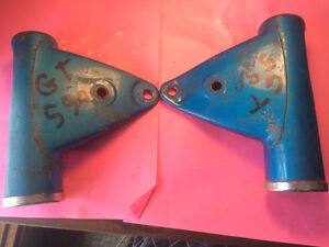 1972 1973 Suzuki GT550 Headlight Mounts
