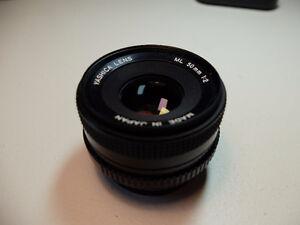 Lens/lentille Yashica 50mm F2.0