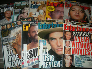 Entertainment Weekly Magazines 2000