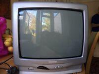 Small Beko tv and freebies box