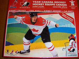 Mario Lemieux, Sidney Crosby, Dinosaur,Little Mermaid puzzles London Ontario image 3