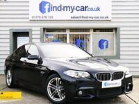 2013 63 BMW 520 2.0D 184 Auto M Sport Saloon Carbon Black