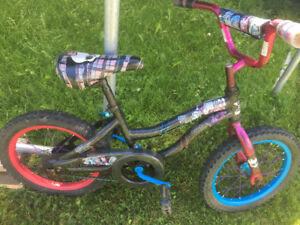 Girls monster high bike