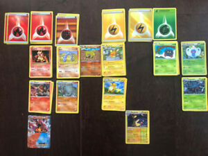 Pokemon cards, rare and special