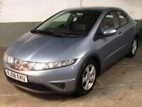 April 2008 '08' HONDA CIVIC 2.2i-CTDi SE DIESEL HATCH * HTD.LEATHER *
