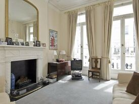EXTREMELY CHARMING 2 BED FLAT WITH BALCONY! High ceilings, large rooms and beautiful decor £430pw!