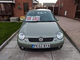 Volkswagen Lupo 1ltr se Cambridge Edition, ideal first car