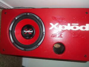 """Sony Xplod 700W 10"""" Subwoofer"""